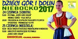 """NIEBOCKO: Zbliża się Festiwal Folklorystyczny """"Dzieci Gór i Dolin"""""""