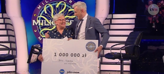 Maria Romanek z Bezmiechowej milionerką!