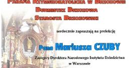 Prelekcja na temat brzozowskiej kolegiaty
