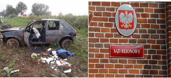 BRZOZÓW: Pijany jeździł już wcześniej. Tym razem spowodował wypadek ze skutkiem śmiertelnym. Jest wyrok