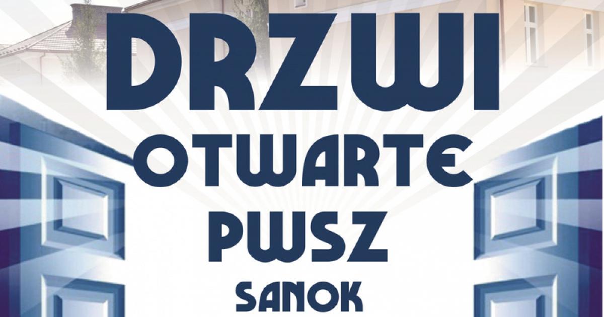 """PWSZ SANOK zaprasza na """"Drzwi otwarte""""!"""