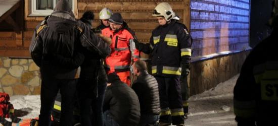 TRAGEDIA: Dwie śmiertelne ofiary nocnego pożaru w Rymanowie (ZDJĘCIA)