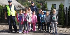 Uczyli dzieci zasad ruchu drogowego (ZDJĘCIA)