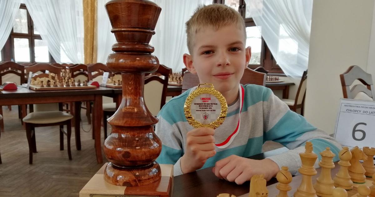 Paweł Sowiński z Humnisk mistrzem Polski w szachach! (ZDJĘCIA)