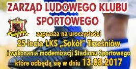 """25-lecie LKS ,,Sokół"""" Trześniów"""