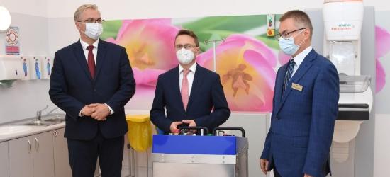 Nowoczesny sprzęt trafił do szpitala onkologicznego w Brzozowie (VIDEO, ZDJĘCIA)
