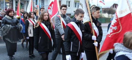 Brzozowianie uczcili Święto Niepodległości. Przemarsz orkiestry i pocztów sztandarowych (FILM, ZDJĘCIA)