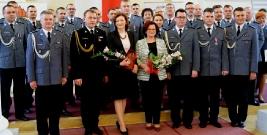 Uroczyste wręczenie odznaczeń i awansów podkarpackim policjantom i strażakom (ZDJĘCIA)
