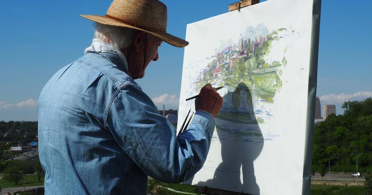 BRZOZÓW24.PL: 20 malarzy przelewa na płótno atuty brzozowskiego pejzażu. Już jutro wernisaż