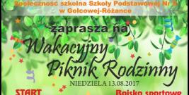 Wakacyjny Piknik Rodzinny w Golcowej