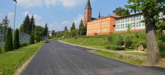 BRZOZÓW24.PL: Ponad milion złotych na przebudowę drogi (ZDJĘCIA)